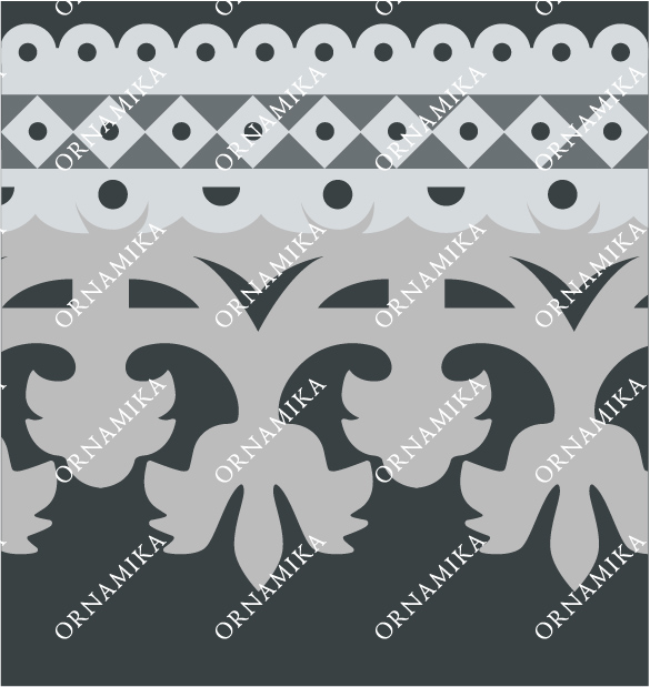 Реконструкция орнамента фриза