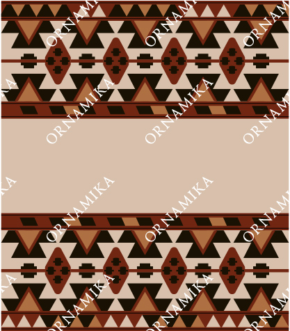 Реконструкция орнамента полотенца Иджияр