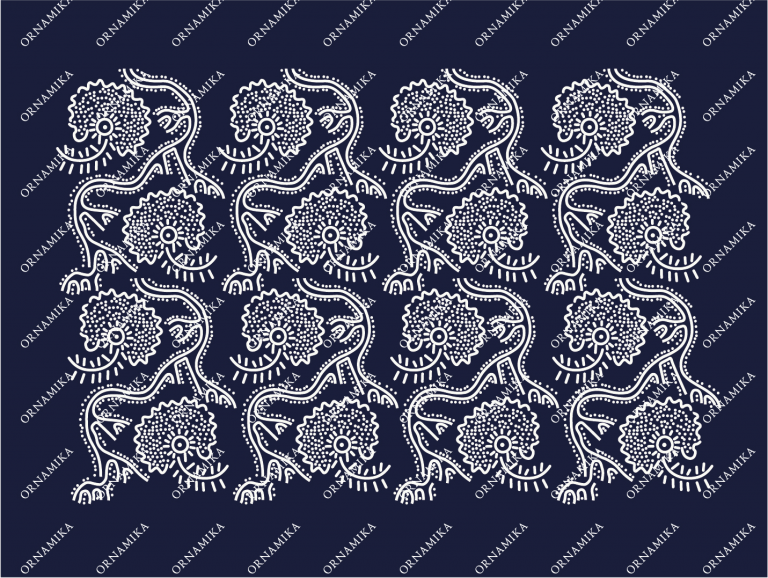 Реконструкция орнамента женского сарафана
