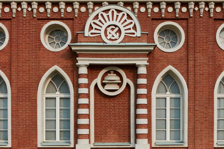 Фасад Кухонного корпуса (Хлебного дома)