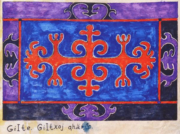 Орнамент Гилатхойцев. <br/>17 - начало 20 века