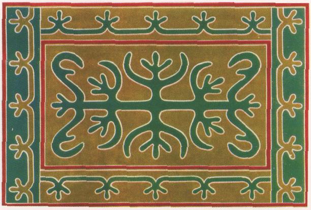 Ingush ornament. <br/>1881 year