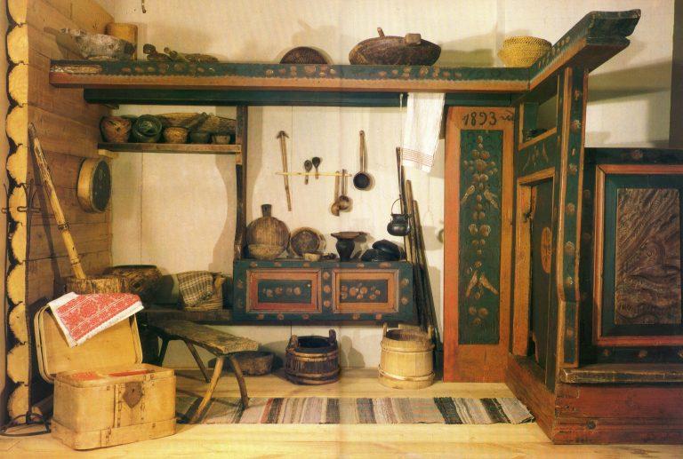 Детали интерьера. (Дом Черепанова П. И). 1 - Дверь голбечная. <br/>1893 год