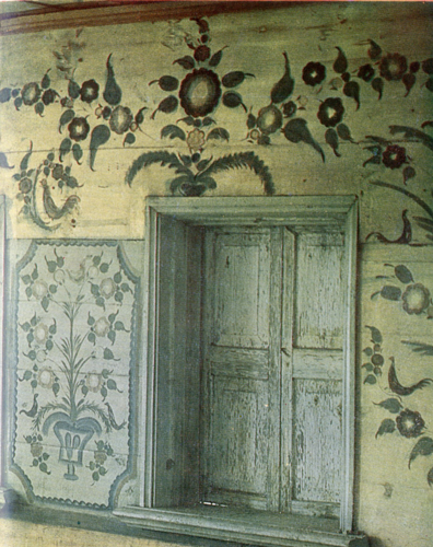 Blooming gardens. Room painting. <br/>1904-1910 years