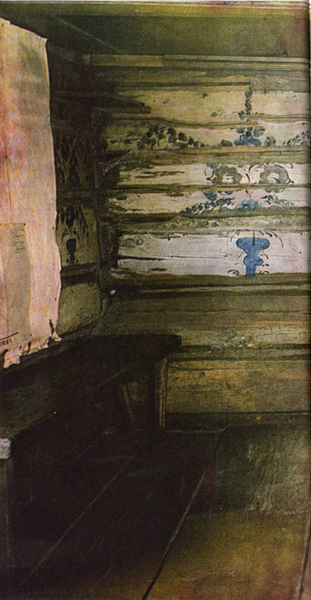 Wall painting. <br/>1901 year