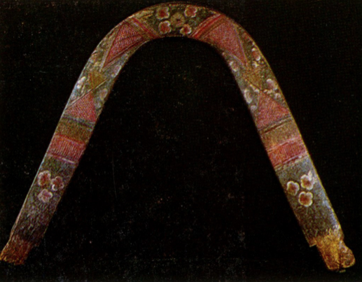 Цветы. Роспись дуги. Конец 19 века