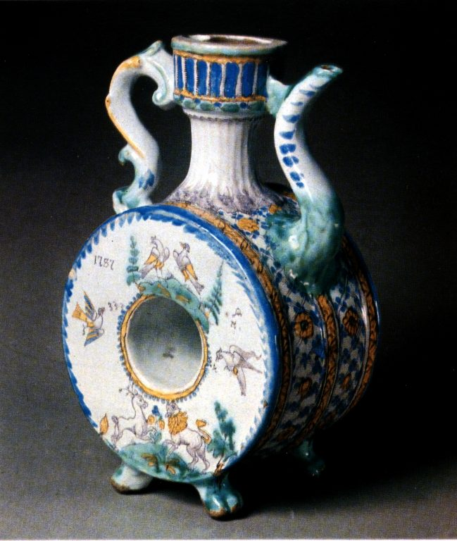 Kvassnik (vessel for kvass storage). <br/>1787 year