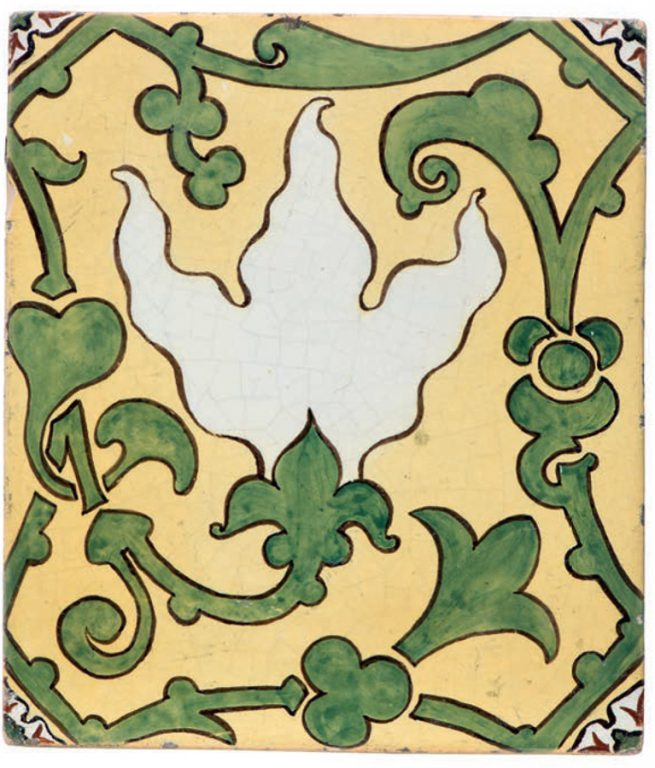 Tile. <br/>1898 year