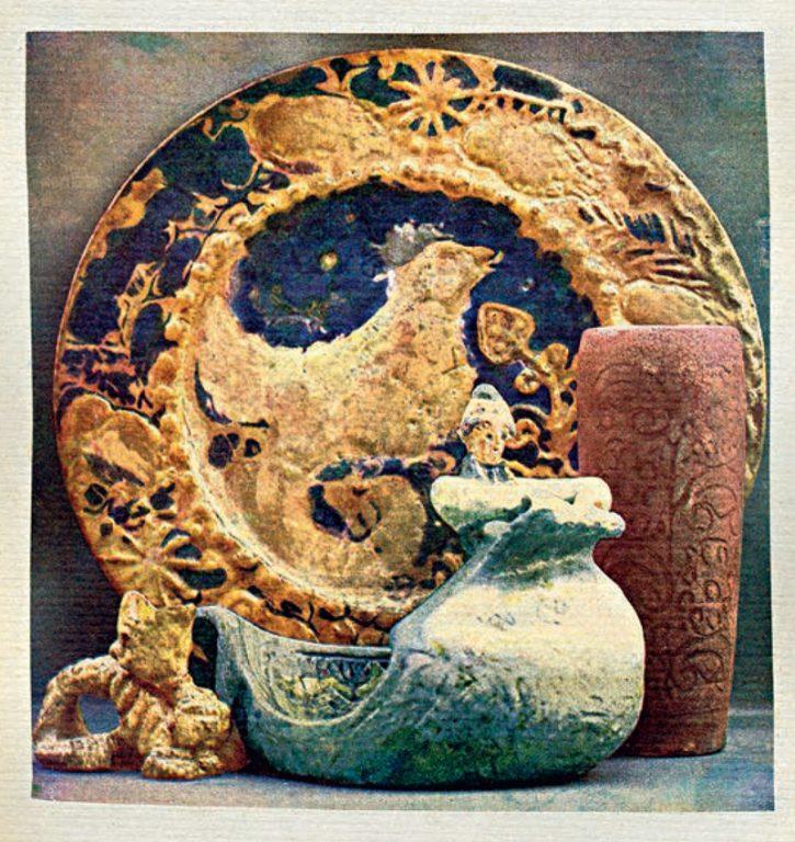 "Керамика артели ""Мурава"". <br/>Середина 1900-х годов"