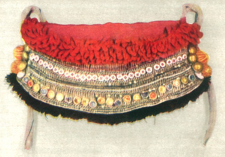 Belt decoration piece. Early 20th century
