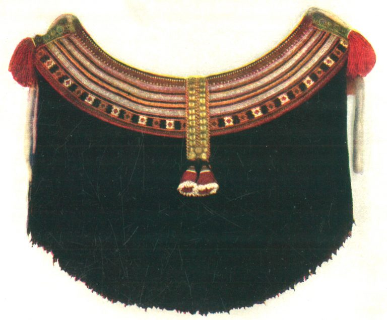Pulai' (belt beaded decoration piece). <br/>Early 20th century