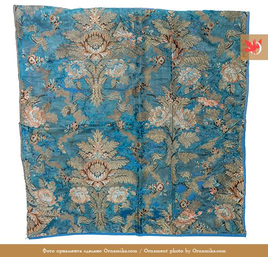 Ткань шёлковая. <br/>18 век