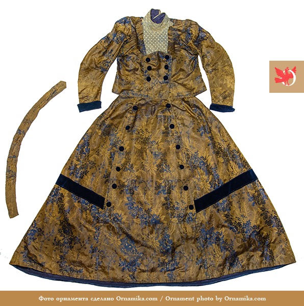 Townswoman outfit. <br/>Second half of the 19th century