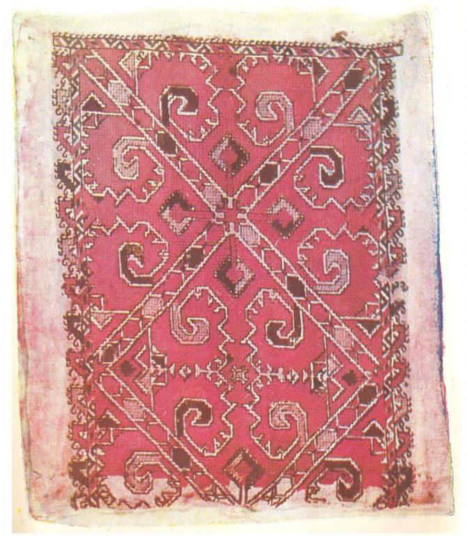 Македонская наплечная вышивка. <br/>Начало 20 века