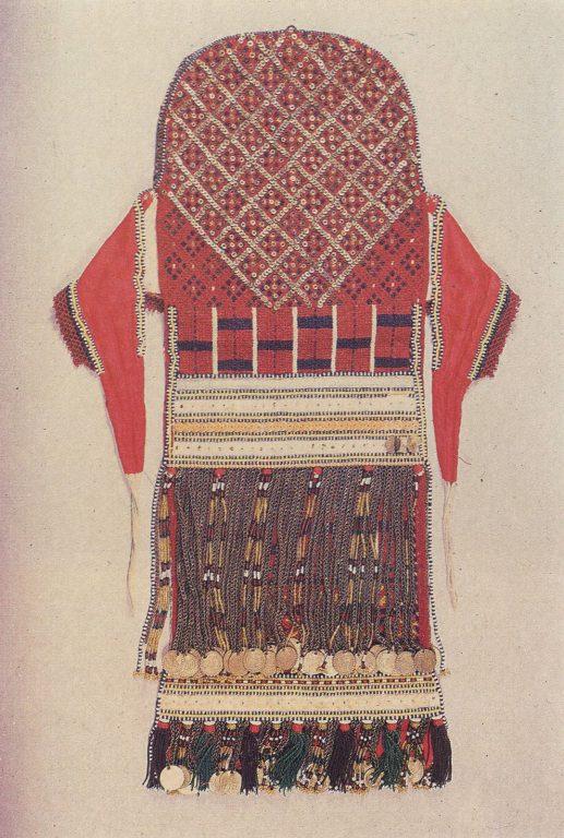 Женский головной убор сорука. <br/>Конец 19 века