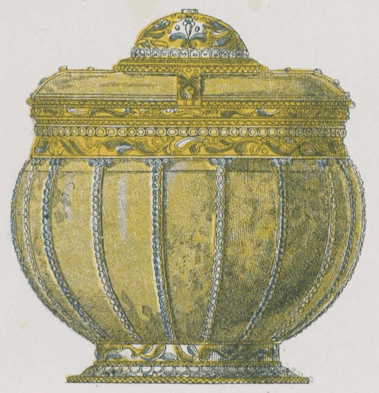 Костяная братина. <br/>1662 год