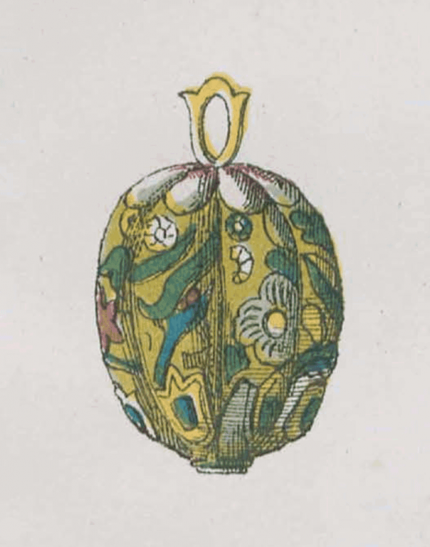 Пуговица царского станового кафтана