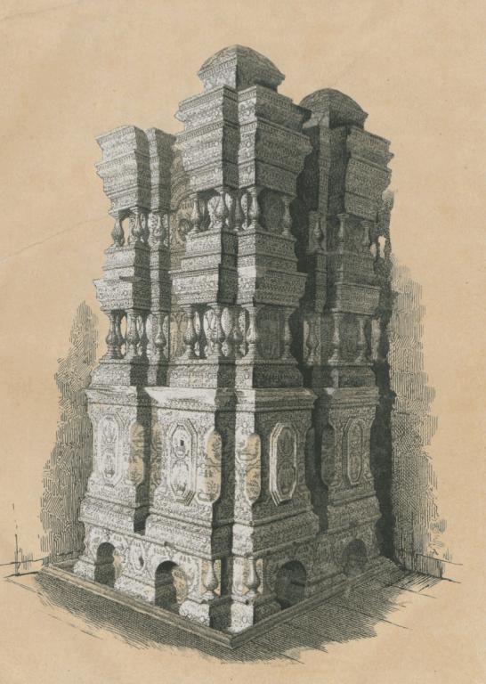 Печь в бывшем Архиерейском доме  . <br/>17 век