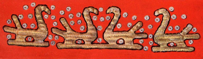 Front part of Soroka (women's headdress). <br/>1922