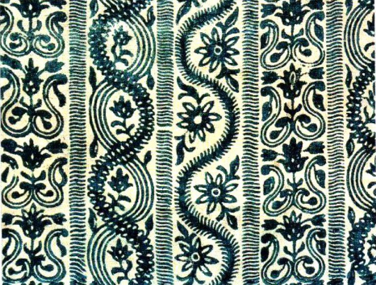 Ткань набивная. <br/>18 век