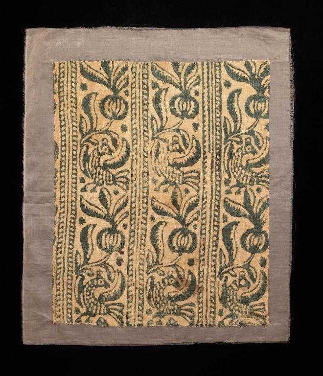 Образец ткани. <br/>1600 - 1799-е годы