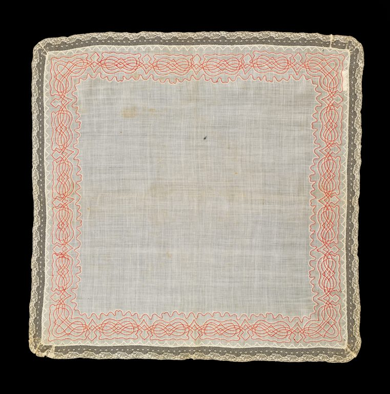 Носовой платок. <br/>1860 - 1880-е годы