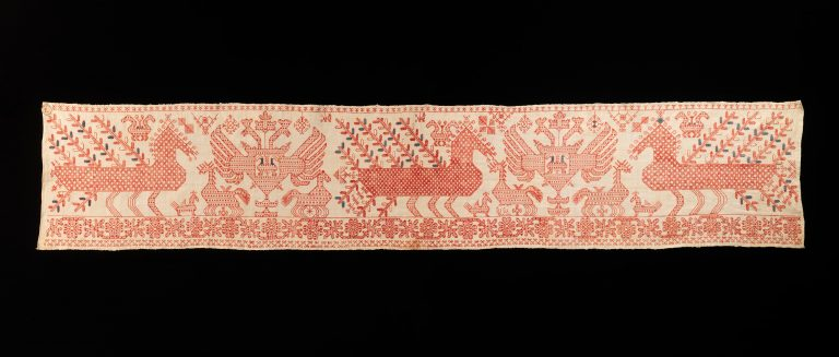 Bed curtain border. <br/>first half 19th century