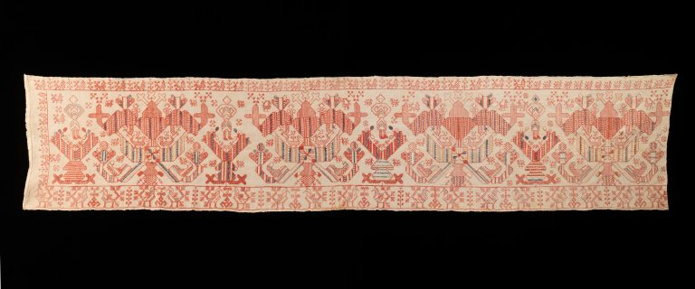 Bed curtain border. first half 19th century