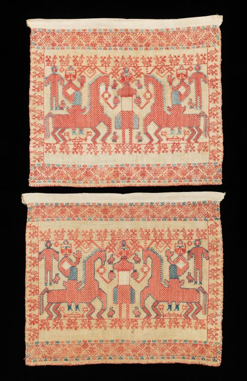 Towel border. early 19th century
