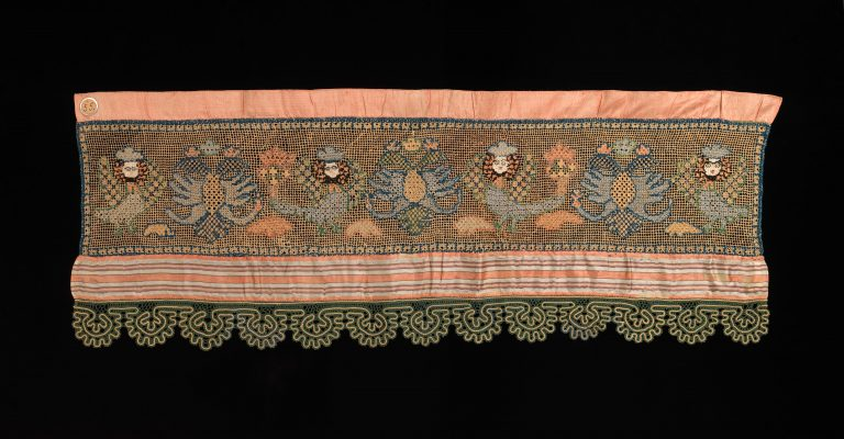 Towel border. <br/>first quarter 19th century