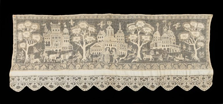Bed curtain border. <br/>first quarter 19th century