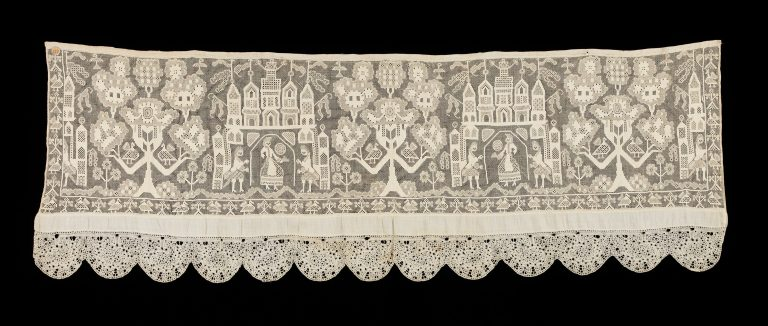 Bed curtain border. first quarter 19th century