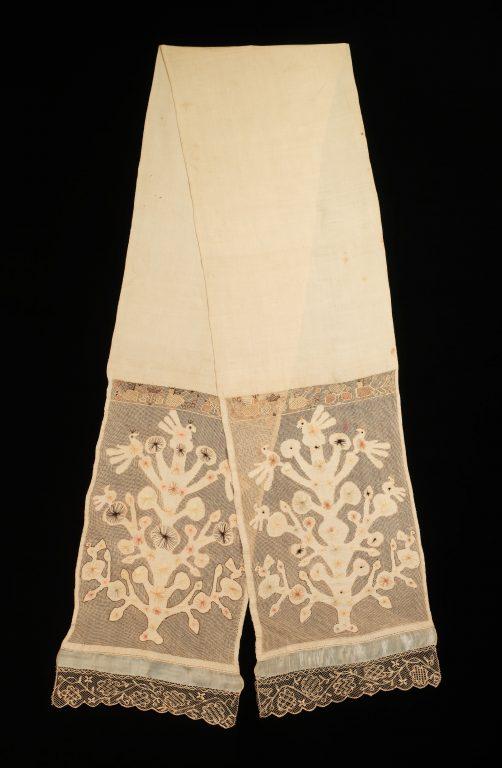 Towel. <br/>1780-1820