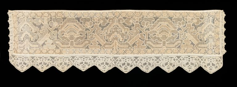 Bed curtain border. <br/>early 19th century