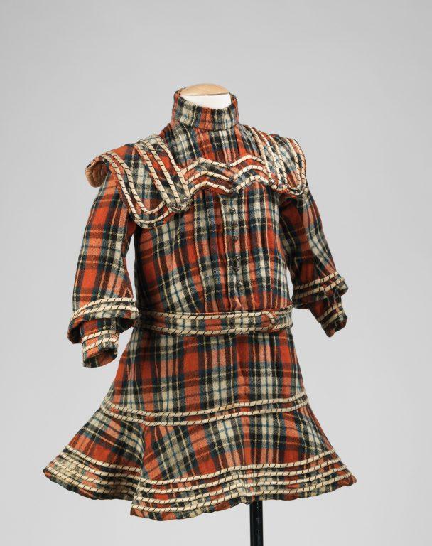 Платье. <br/>Около 1895-го годв