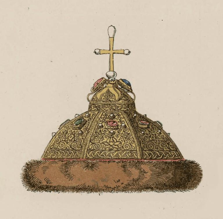 Шапка Мономахова. <br/>14 - 19 века
