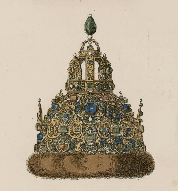 Шапка царя Михаила Федоровича. <br/>1627 год