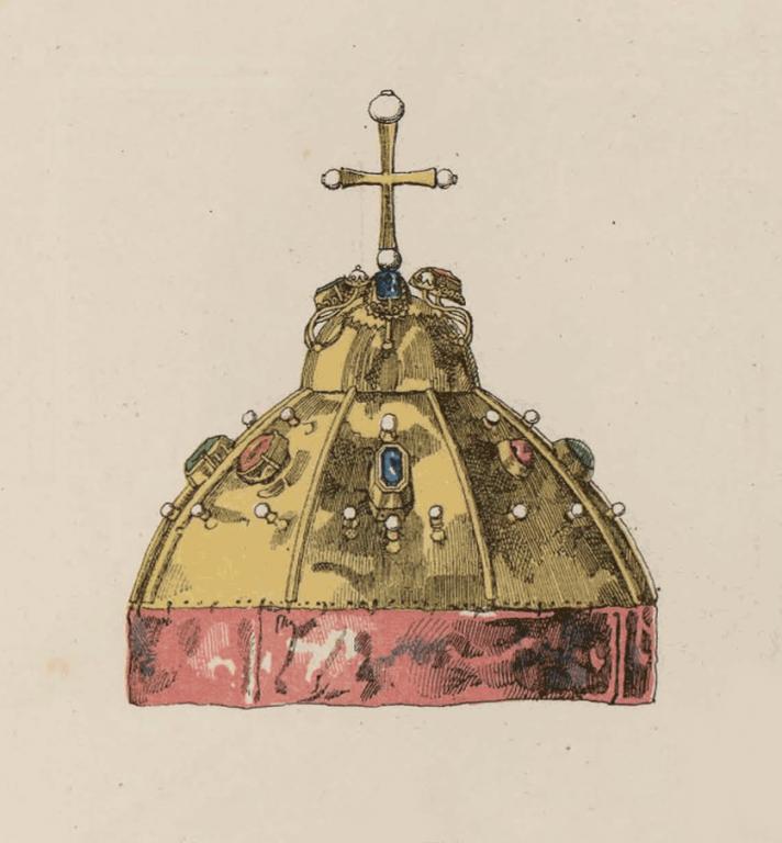 Шапка Мономахова меньшего наряда. <br/>1682 год