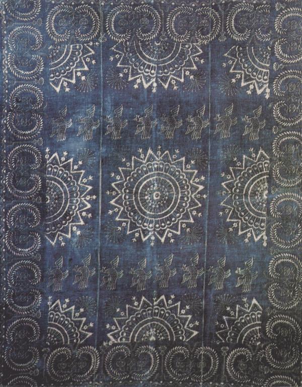 Скатерть с каймой. <br/>19 век