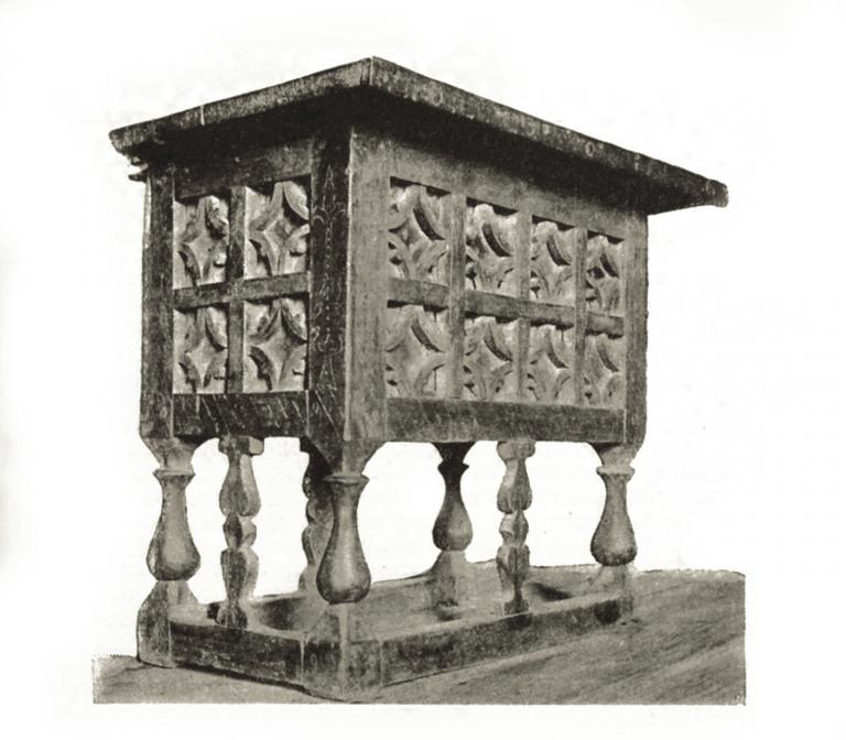 Столик из Толчковской церкви. <br/>16 — 17 век