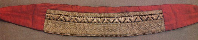 Женская налобная повязка. <br/>Конец 19 -начало 20 века