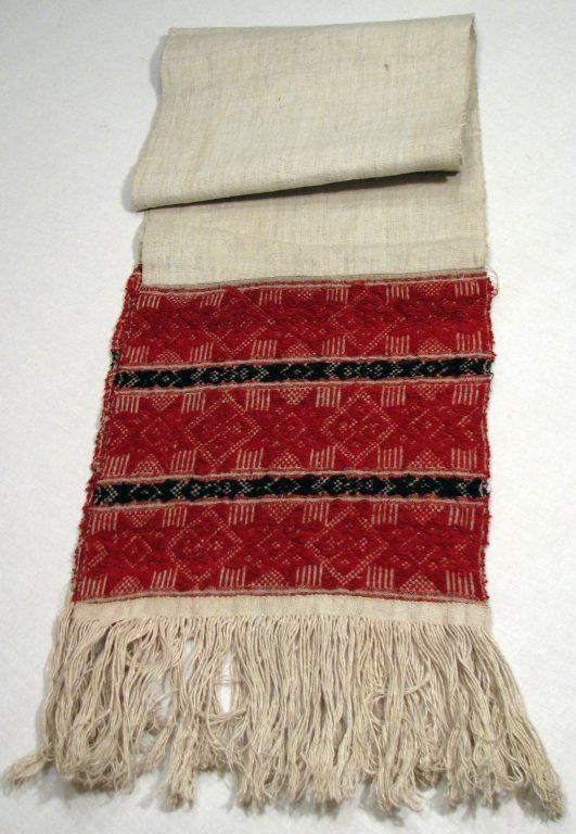 Полотенце головное женское праздничное (Чалма). <br/>Начало 20 века
