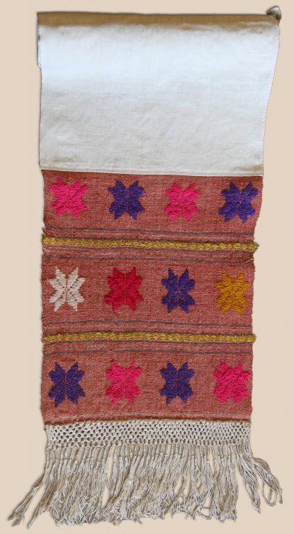 Полотенце головное женское (Чалма). <br/>Начало 20 века
