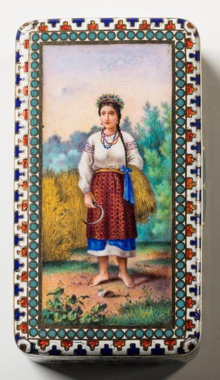Табакерка. 1881 год