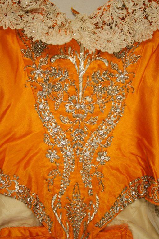 Court dress. 1892-93