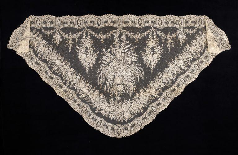 Shawl. 1860-70