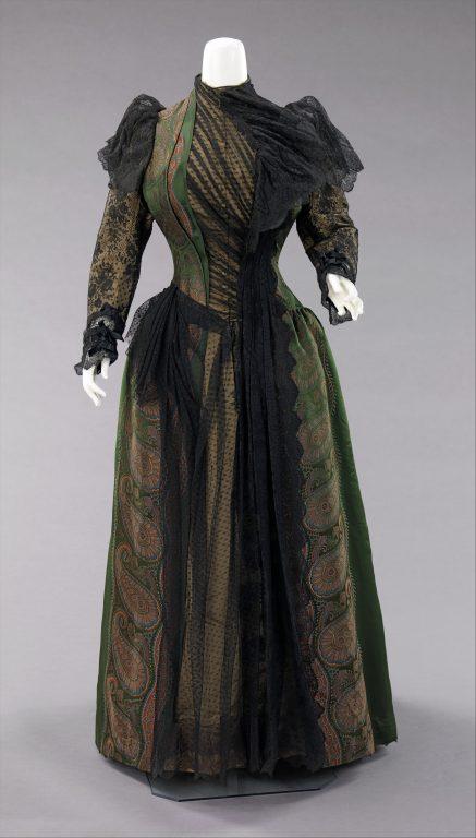 Dress. 1889