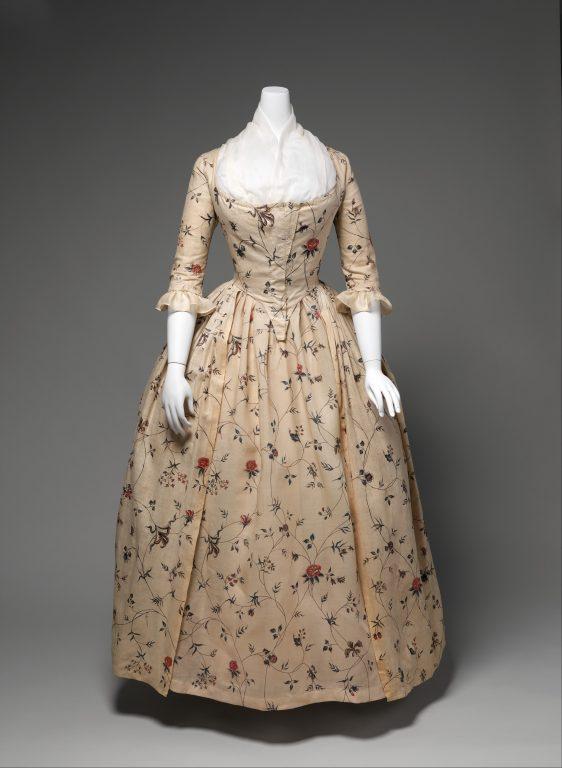 Robe à l'Anglaise. 1785-95