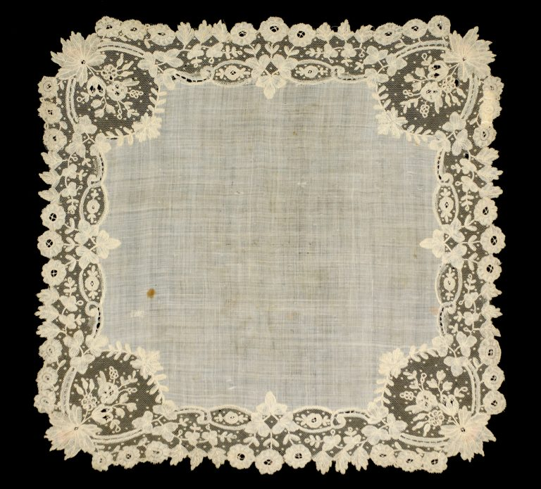 Handkerchief. <br/>third quarter 19th century