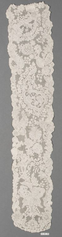 Lappet (one of a pair). 18th century